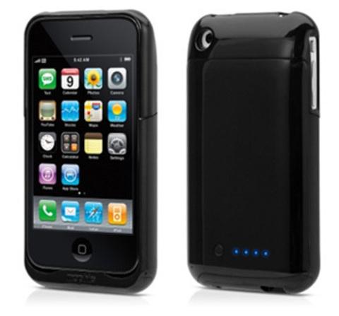 Mophie Juice Pack Air. Дополнительный аккумулятор для iPhone 3G(S) (Black)