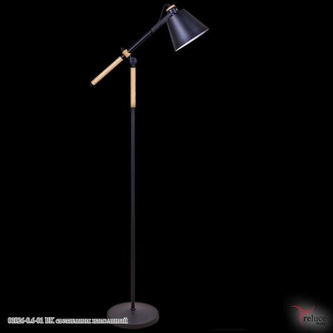 01026-0.6-01 BK светильник напольный