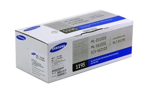 Оригинальный картридж Samsung MLT-D119S (SU864A) черный