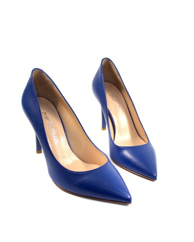 синие туфли Mario Muzi