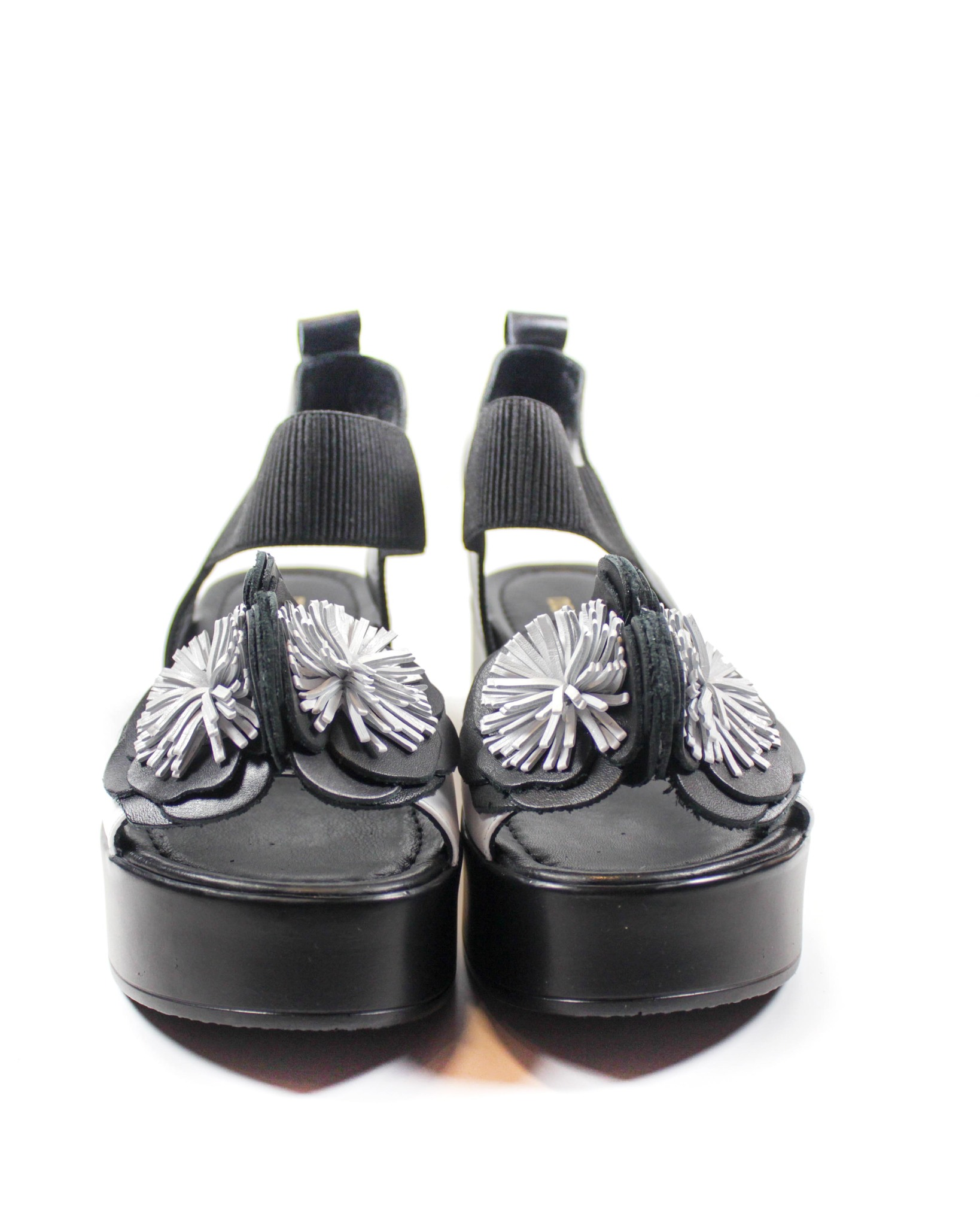 черные босоножки Donna Ricco