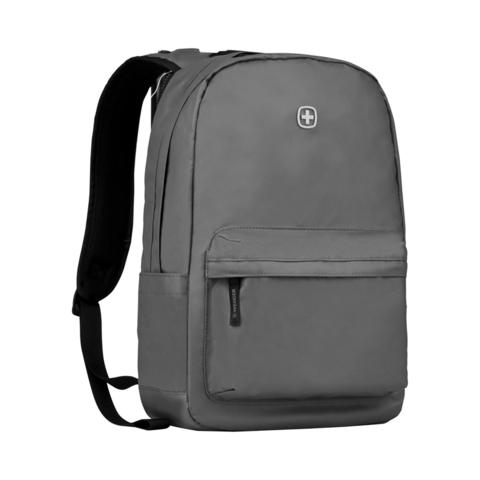Городской рюкзак с водоотталкивающим покрытием серый (18 л) WENGER Photon 605033