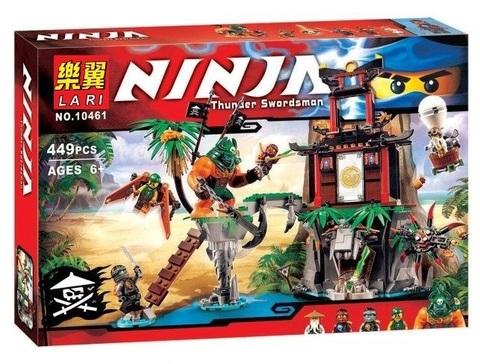 Конструктор Ninja 10461 Тигровый остров вдов