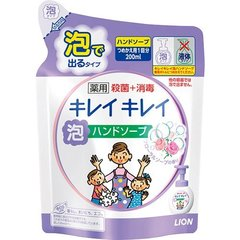 Мыло-пенка для рук, Lion Япония, KireiKirei,для рук, Цветочное, сменный блок, 200 мл