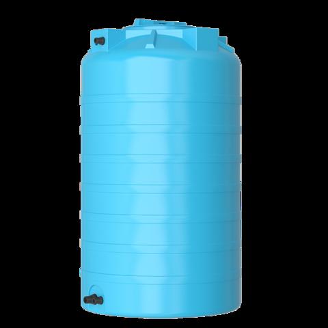 Бак для воды Aquatech ATV 500 (синий) с поплавком Миас