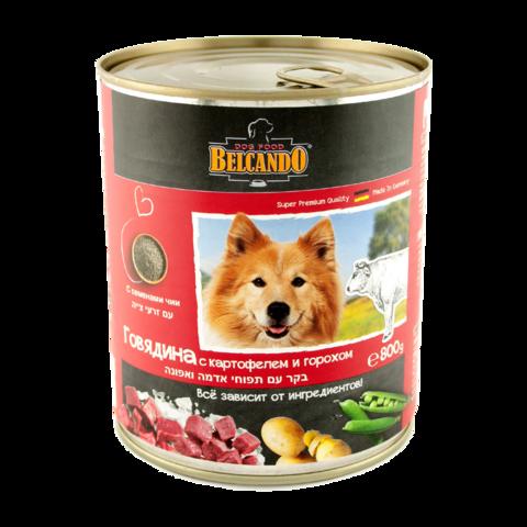 Belcando Rind Консервы для собак с говядиной, картофелем и горохом