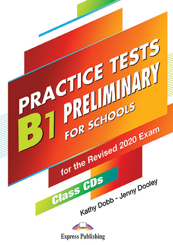 B1 Preliminary For Schools Practice Tests - Class CDs (set of 5)