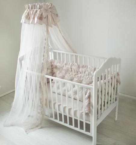 Комплект в кроватку Жемчуг, на 4 стороны кроватки