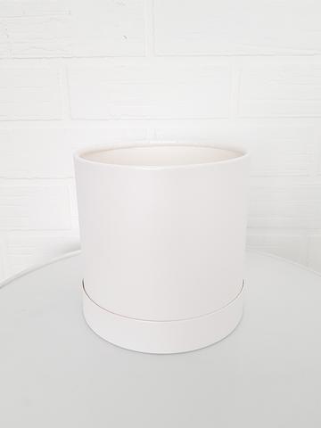 Коробка для цветов (цвет белый)