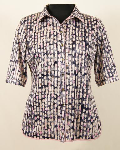 Блузка Laura Canorra 1714 батник капельки
