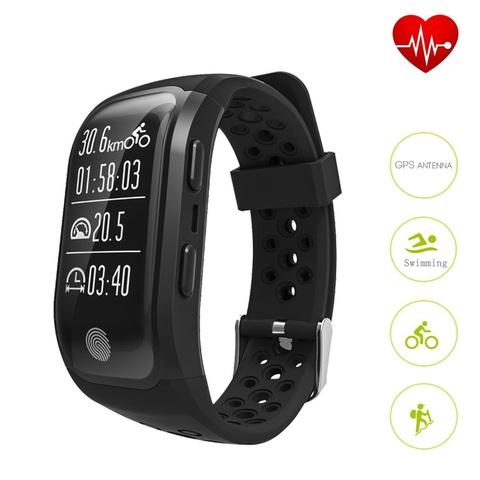 Makibes S908 водонепроницаемый смарт-часы сердечного ритма Фитнес Tracker GPS цвет на выбор