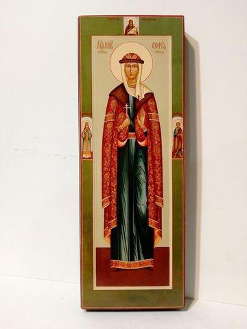 Икона святая София княгиня Слуцкая на дереве на левкасе мастерская Иконный Дом