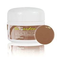 In'Garden, Гель-краска для ногтей 021, кокос, 5 гр.