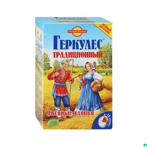 Геркулес традиционный (русский продукт) 0,450 гр.