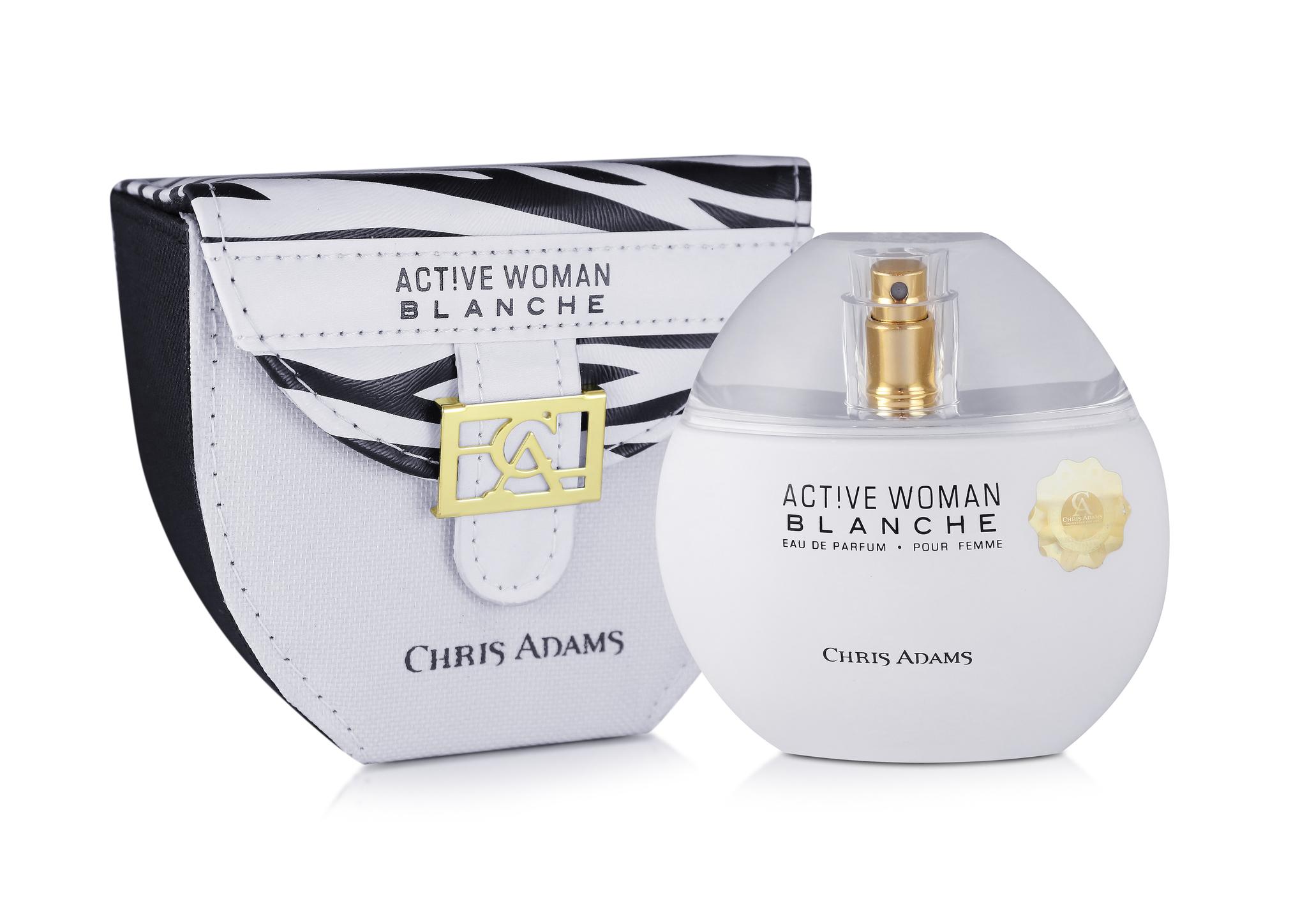 Chris Adams Женский Active Blanche Woman Парфюмированная вода 80 мл