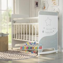 Кровать детская COSMIC (колесо-качалка)
