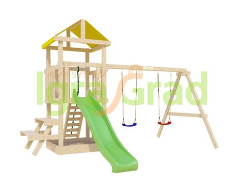 Детская площадка IgraGrad Крафтик со столиком