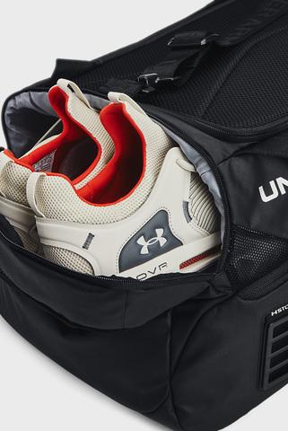 Черная спортивная сумка UA Contain Duo MD Duffle-BLK Under Armour