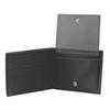 Портмоне Victorinox Altius 3.0 Innsbruck, чёрное, натуральная тиснёная кожа наппа, 13x2x10 см