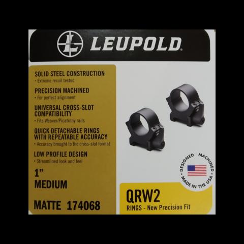 Кольца Leupold QRW2 быстросъемные на Weaver/Picatinny, 26 мм, средние