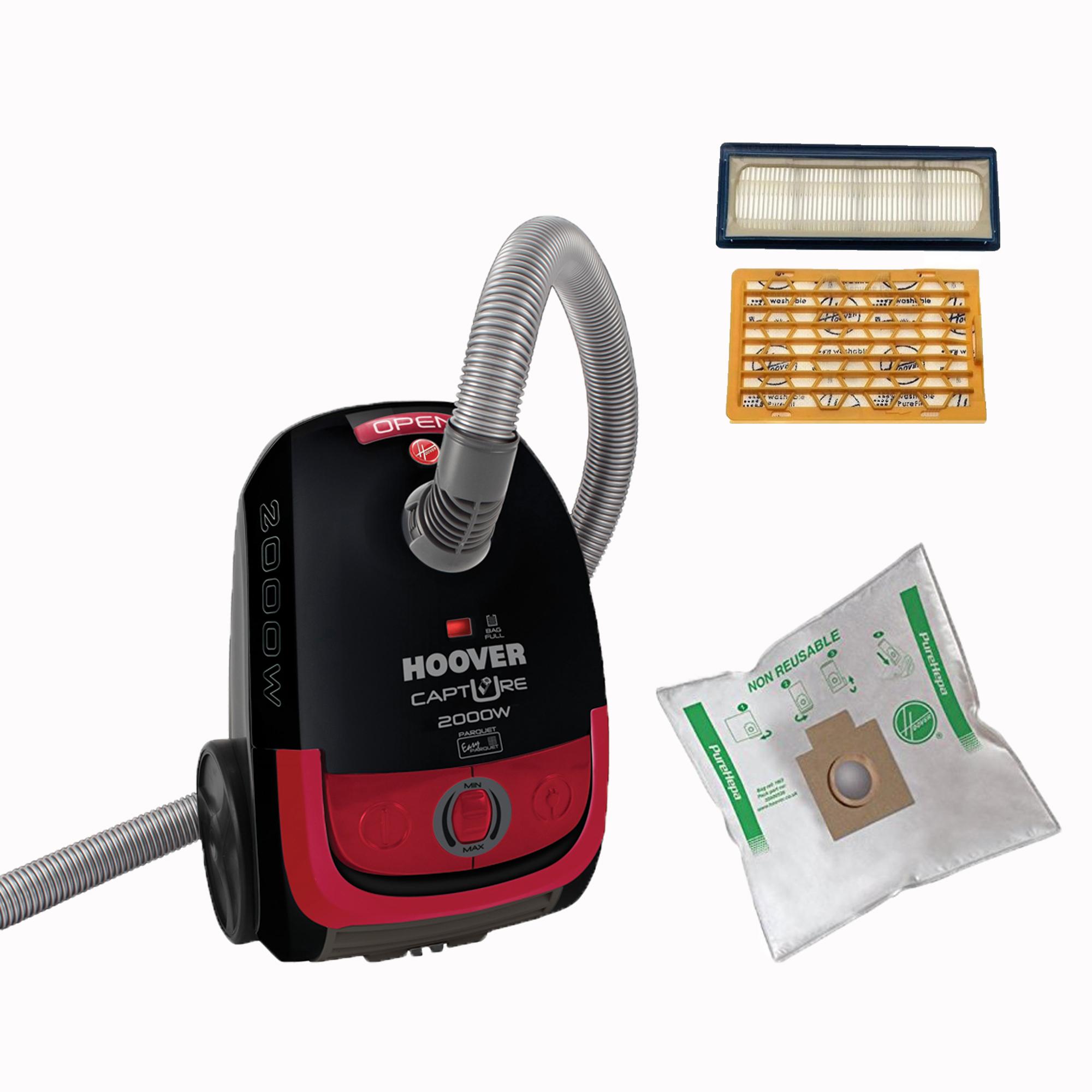 Комплекты подготовка Мешковый пылесос Capture TCP2010 019 + аксессуары