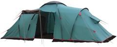Палатка кемпинговая Tramp Brest 9 (V2), зеленый