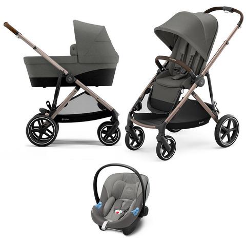 Детская коляска Cybex Gazelle S 3 в 1 TPE Soho Grey