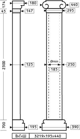 Полуколонна 1.10.209
