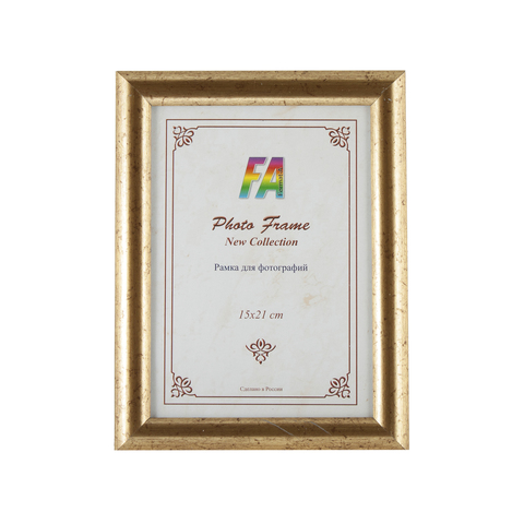 Фоторамка Автограф 10х15 Формат-А (старое золото)