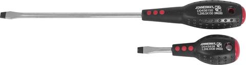 D04S6100 Отвертка стержневая шлицевая FULL STAR, SL6.5х100 мм