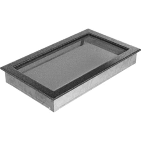 Вентиляционная решетка Черная/Серебро (22*37) 22/37CS