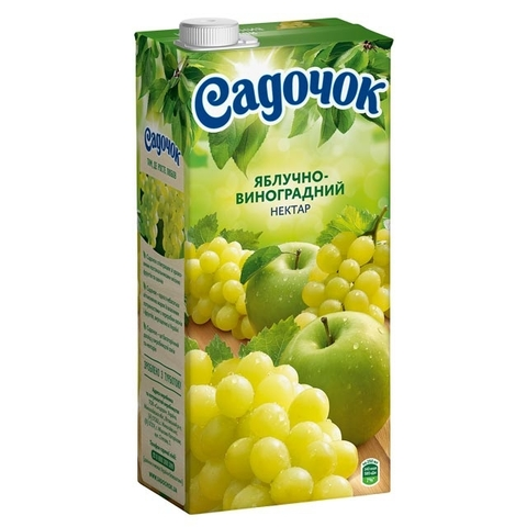 Нектар Яблоко-Светлый Виноград