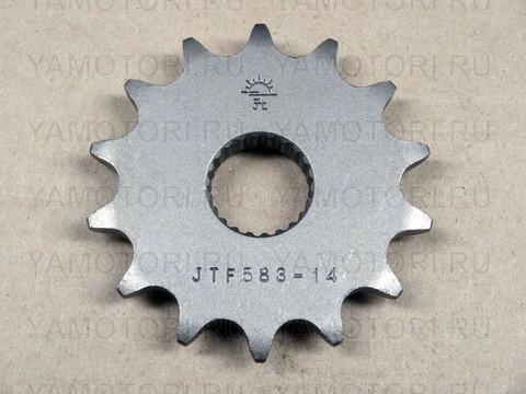 JTF583 Звезда ведущая передняя JTF583 14 зубьев для Yamaha TT-R250 TT250R