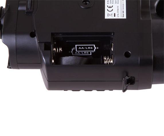 Бинокль ночного видения Bresser 3x20, цифровой - фото 6 - отсек для элементов питания