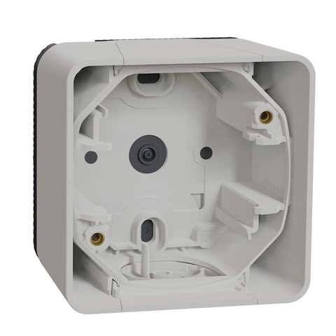 Коробка на 1 пост. Цвет Белый. Schneider Electric(Шнайдер электрик). Mureva styl(Мурева стайл). MUR39911