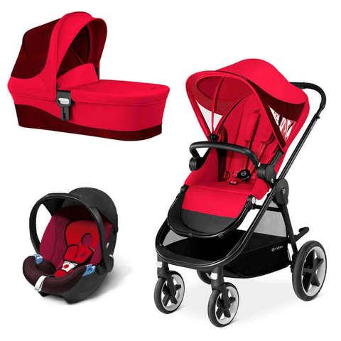 Детская коляска Cybex Balios M 3 в 1 Rebel Red