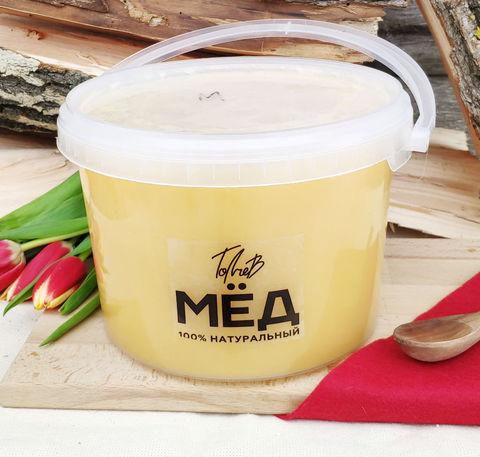 Предзаказ Крем мёд 2021 3 литра (4,3 кг)