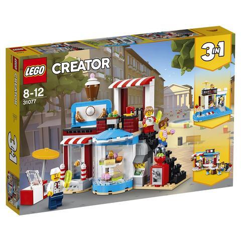 LEGO Creator: Модульная сборка: Приятные сюрпризы 31077 — Modular Sweet Surprises — Лего Креатор Создатель