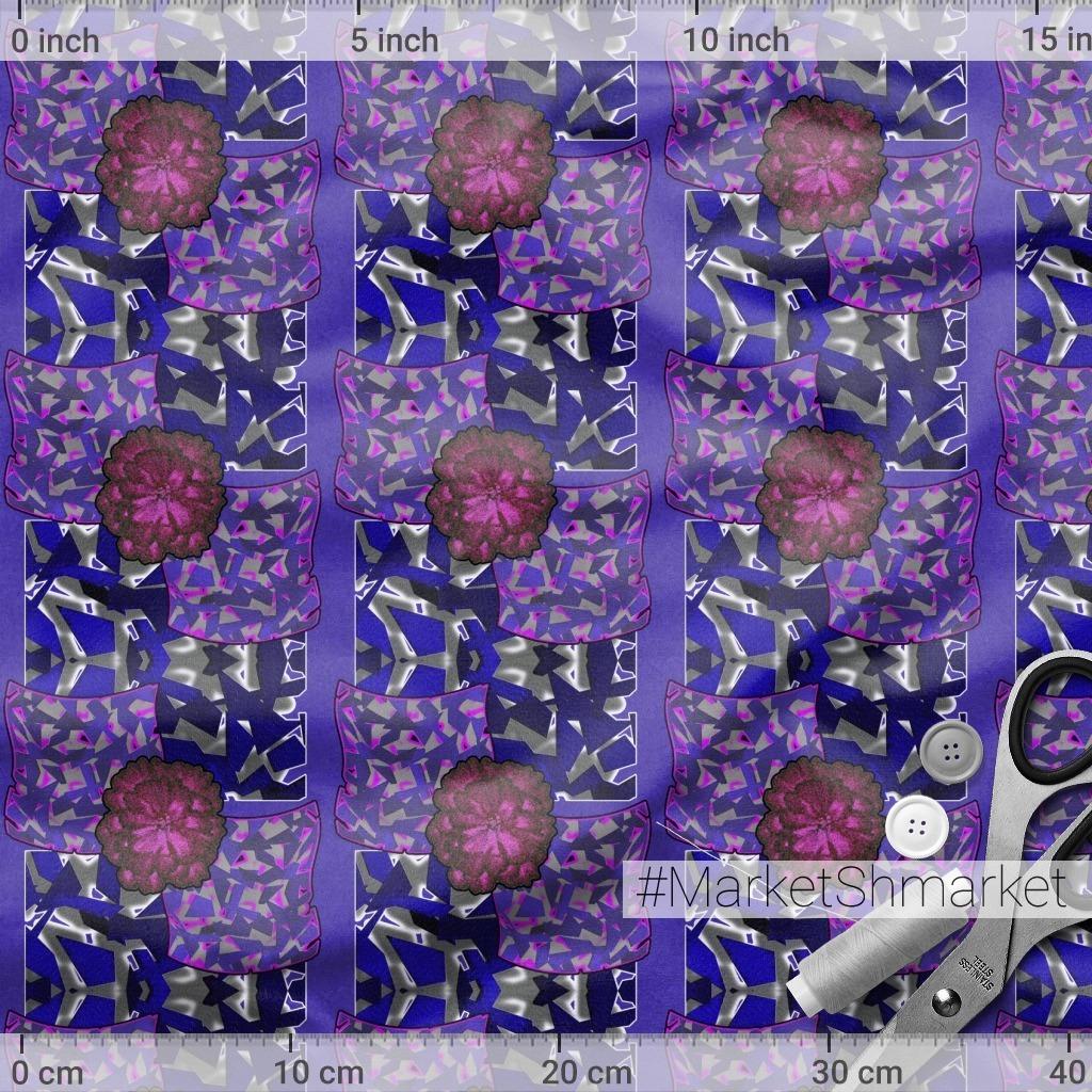 абстрактный цветочный узор