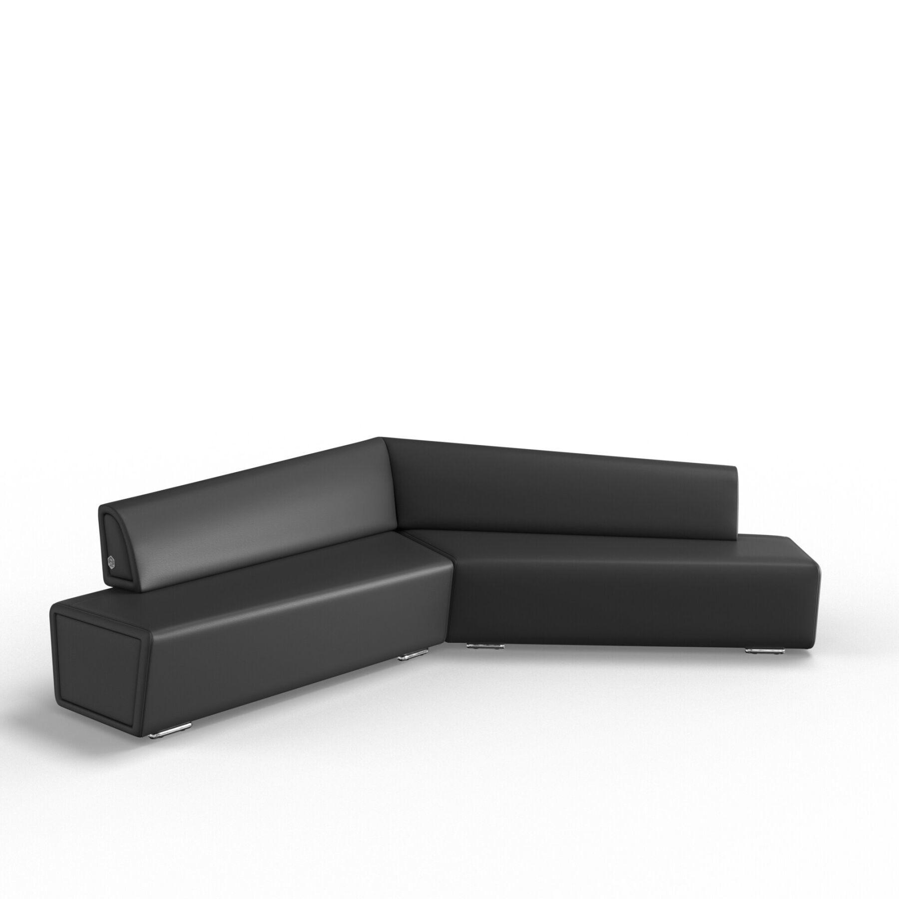 Трехместный диван KULIK SYSTEM COPTER Кожа Левый и правый