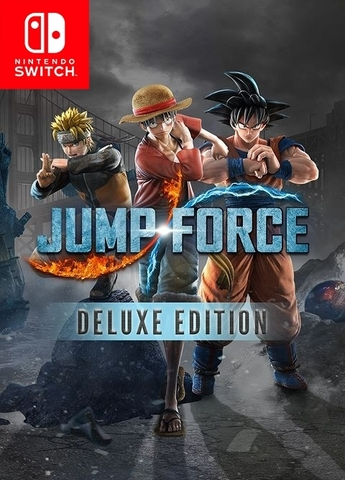 Jump Force. Deluxe Edition (Nintendo Switch, русские субтитры)