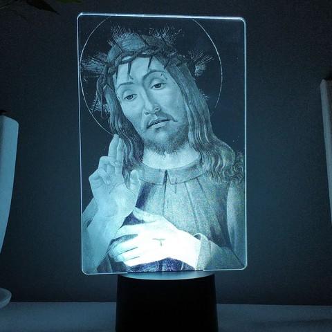 Светильник Иисус Христос