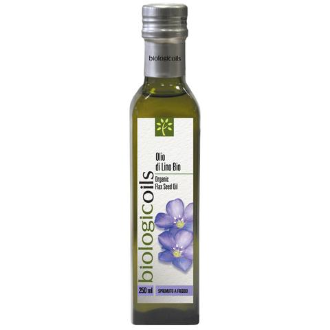Масло BiologicOils льняное Bio Extra Vergine 250мл