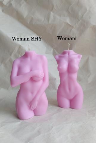 Свеча WOMAN 15cm / Rose