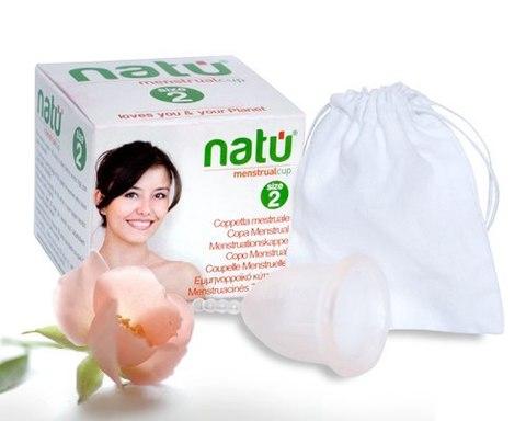 Менструальная чаша премиум класса NATU (размер 2)