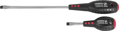 D04S6150 Отвертка стержневая шлицевая FULL STAR, SL6.5х150 мм