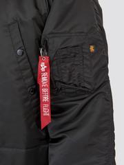 Парка Alpha Industries N-3B Regular Fit Black (черная)