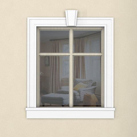 Окно из пенопласта