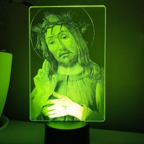 Ночник Иисус Христос