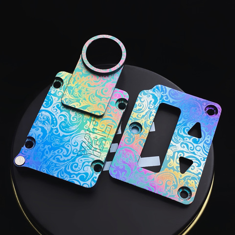 Anodized Titanium Inner Plate by YEC Studio